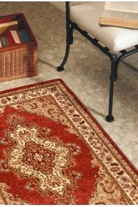 kusový koberec Metal 0516A d.red d.red