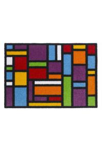 Farebná rohož do interiéru Ambiance flash 801 carre