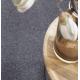 Uzlíkový koberec Rovigo 4929 tmavošedá