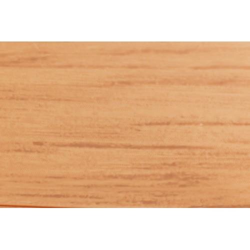 Plastová soklová lišta Bolta 5cm 0034 jemny dub