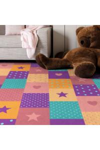 Koberec Fancy 4012-CH ružová do detskej izby