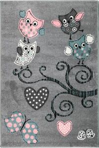 Detský koberec Playtime 0420A šedý