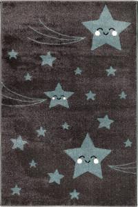 Detský koberec Playtime 0610A modrý