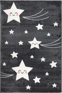Detský koberec Playtime 0610A tmavosivý