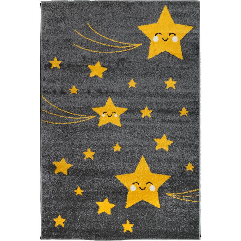 Detský koberec Playtime 0610A žltý