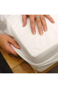 Matracový chránič 160x200 Protect Jersey+PUR biely