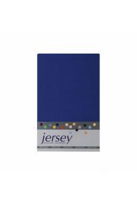 Prestieradlo 180x200 Jersey 56 tmavo-modrá