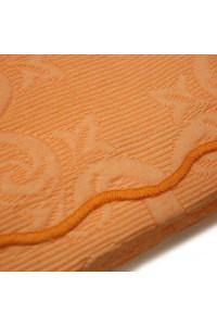 Prikrývka 220x260 Barok Techno oranžová Greno