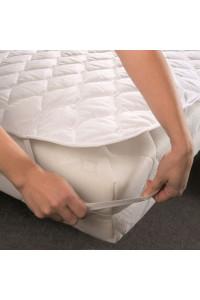 Matracový chránič 90x220 bavlna biely Scan