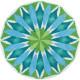 Mandala svitanie 43183 kruh 80cm