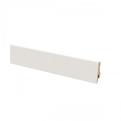 Soklová lišta K58C 9002 biela 58mm