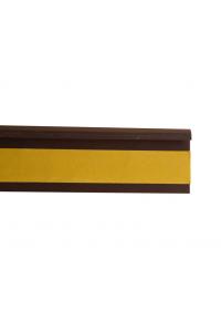 Kobercová soklová lišta 42222 2,5m hnedá