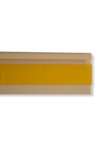 Kobercová soklová lišta 42222 2,5m béžová