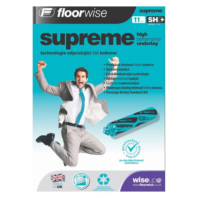 Podložka pod koberce Floorwise Supreme 11mm