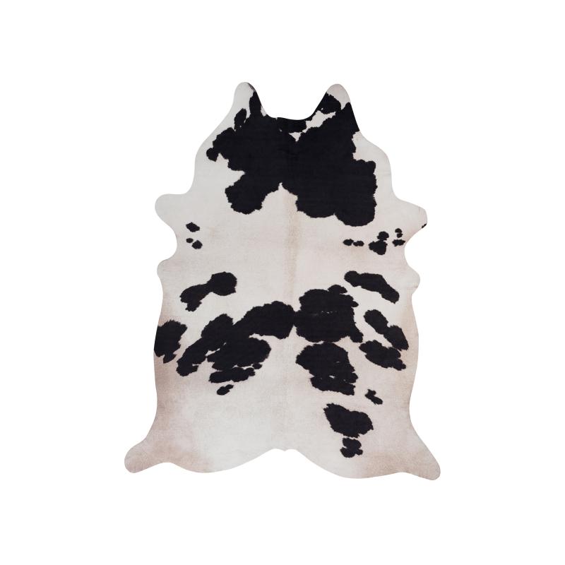 Umelá koža Toledo 190 čierna biela