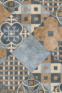 Iconik 260D Zaragoza Tile Indigo