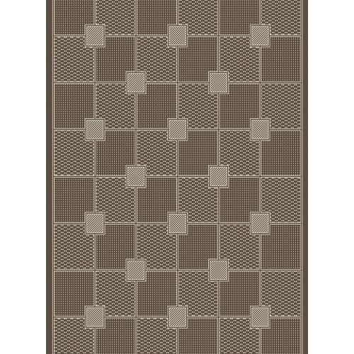 Taverna Behúň 7787/P609 coffee brown wool