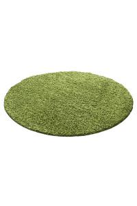 Koberec Life Shaggy zelený 1500 kruh