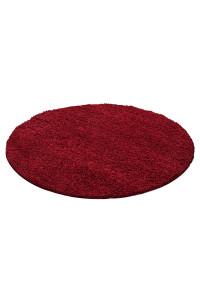 Koberec Life Shaggy červený 1500 kruh