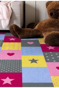 Detský koberec Fancy 4012-01 šedá