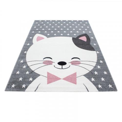 Detský koberec Playtime 0550A ružový