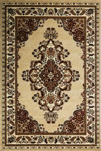 kusový koberec Metal 0516A l.beige l.beige