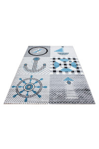Detský koberec Kids 510 sivý