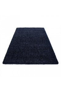 Koberec Life Shaggy tmavo-modrý 1500