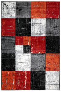 Koberec Jasper 20762 910 čierna/červená