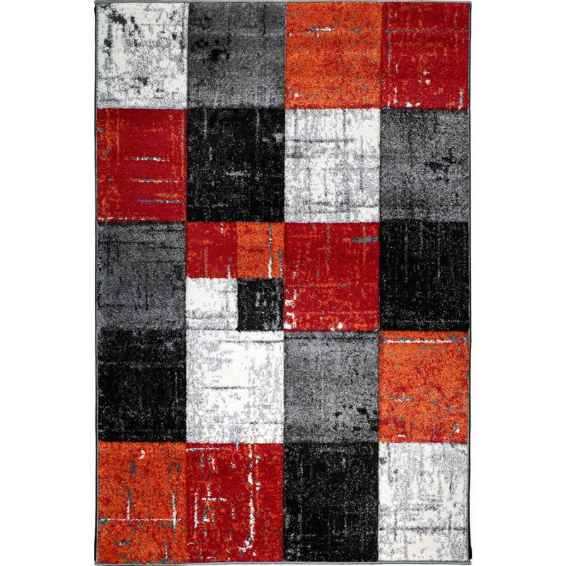 kusový koberec Jasper 20762-910 black red