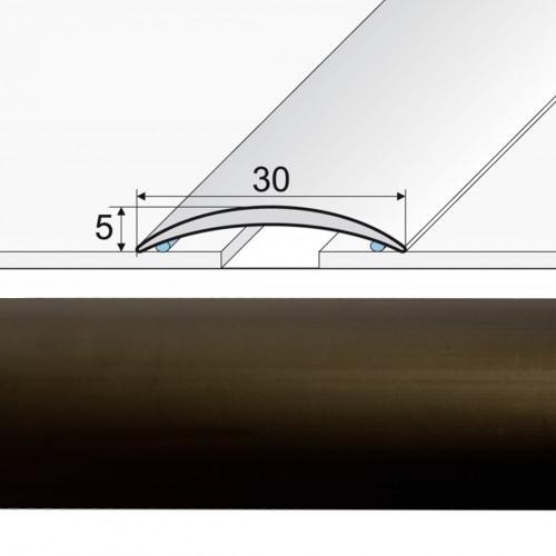Prechodová lepená lišta A03 bronz 03