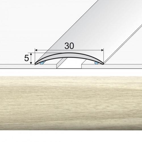 Prechodová lepená lišta A03 dub bieleny 20901