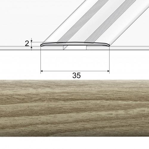 Prechodová lepená lišta A08 dub arctic 20902