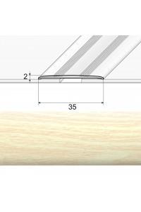 Prechodová lepená lišta borovica biela 35