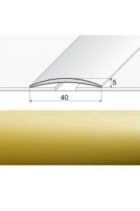 A13 Prechodová lepená lišta zlato 00