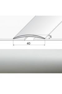 A13 Prechodová lepená lišta striebro