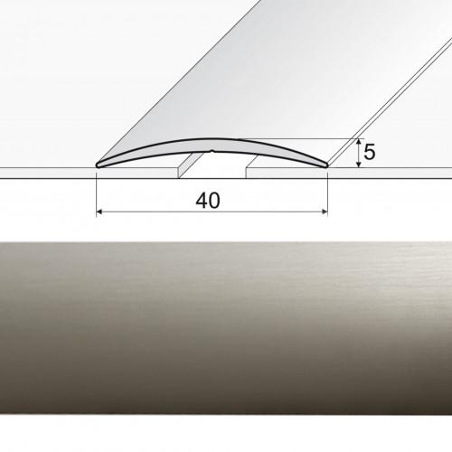 Prechodová lepená lišta A13 inox