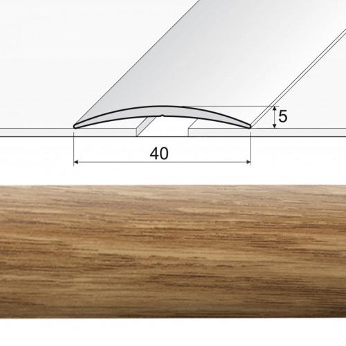 Prechodová lepená lišta A13 dub