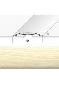 Prechodová lepená lišta A13 sosna biela