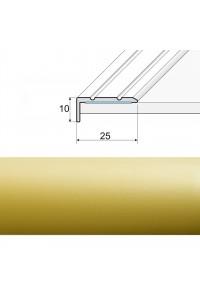 Ukončovacia lepená lišta A31 zlato