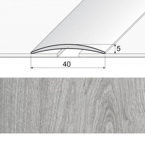 Prechodová lepená lišta A13 dub topaz