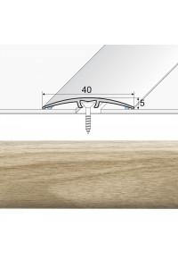 Prechodová lišta narážaná A64 dub mocca 20902