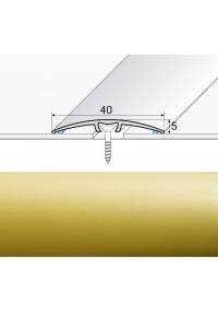 Prechodová lišta narážaná A64 zlato