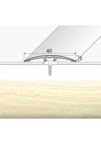 Prechodová lišta narážaná A64 sosna biela