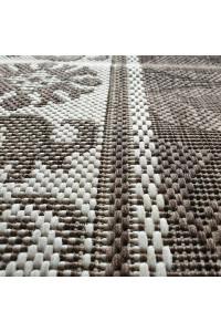 Taverna behúň 2617 P609 coffee brown wool