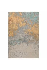 Kusový koberec Frencie 5474 béžovomodrý