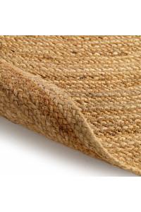 Kusový koberec Jutta kruh 5900 bledohnedá