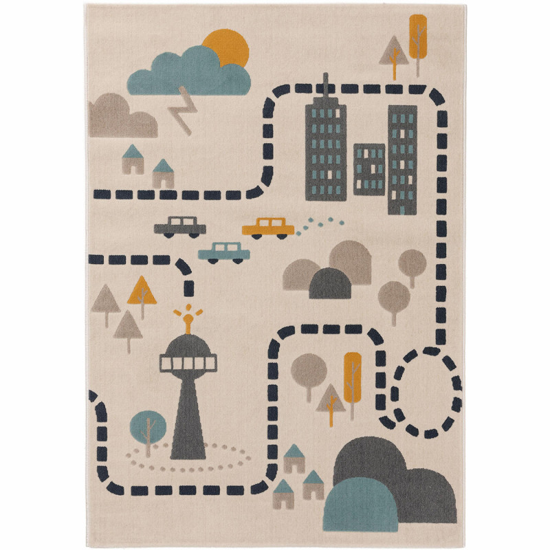 Kusový koberec Juno 6313 béžová