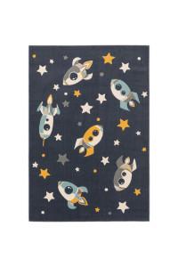 Kusový koberec Apollo 7204 modrý