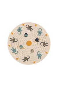 Kusový koberec Apollo kruh 7206 krémový